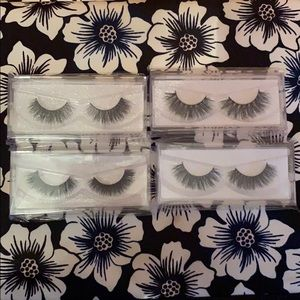 3D Mink Lash BUNDLE of 4 pairs of lashes for  $20